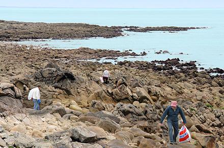 Nettoyage des côtes