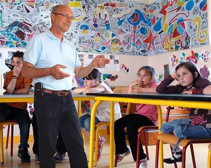 Respect de l'environnement à l'école d'Esquibien